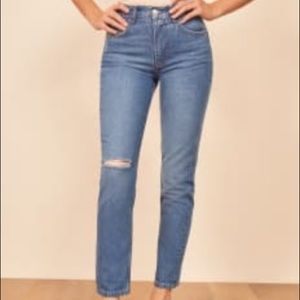 Never worn Reformation Jeans!